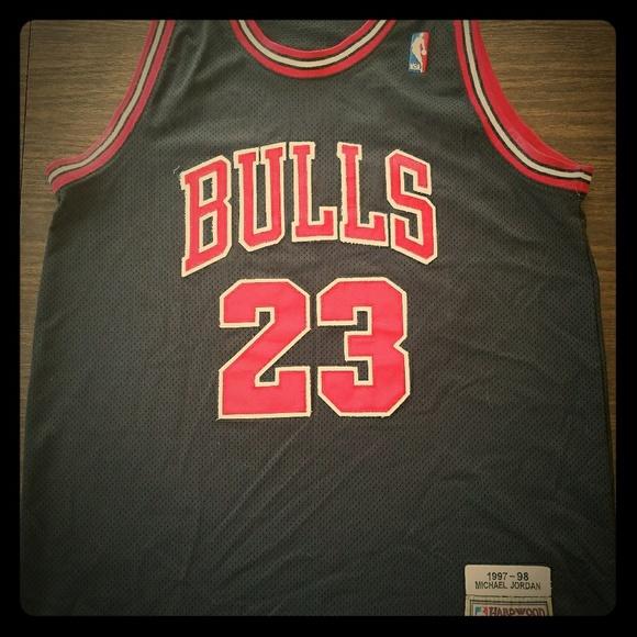 hot sale online e6153 e5e0f Michael Jordan hardwood classics Jersey